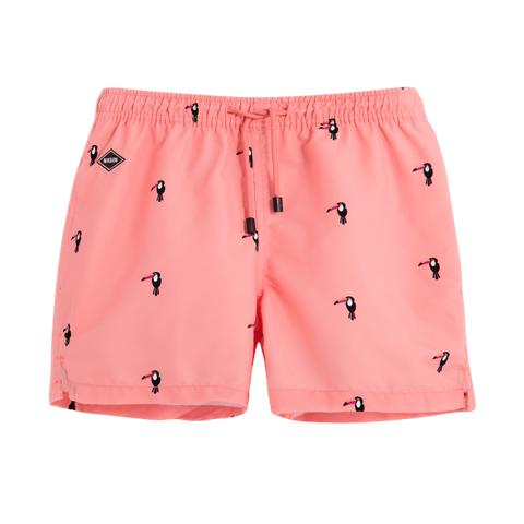 "Toucan 14"" Swim Shorts"