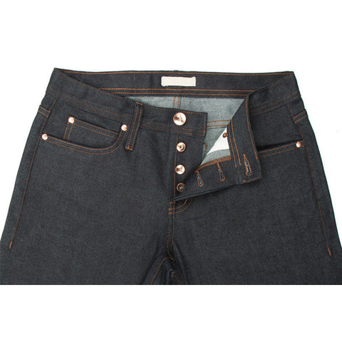 UB422 Tight Fit Stretch Selvedge Indigo