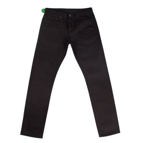 UB255 Tapered Fit Selvedge Chino Black