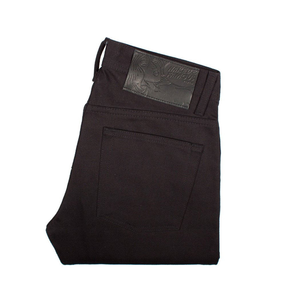 Weird Guy Black Selvedge Chino