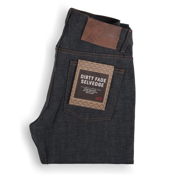 Weird Guy Dirty Fade Selvedge Indigo