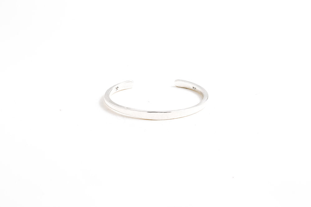 Workshop Cuff - Polished Sterling Silver