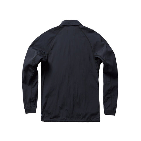 Coach's Jacket Black Stretch Nylon