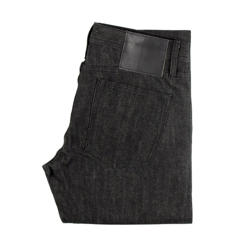 UB104 Skinny Fit Black Selvedge