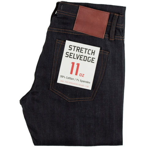 UB122 Skinny Fit Stretch Selvedge Indigo
