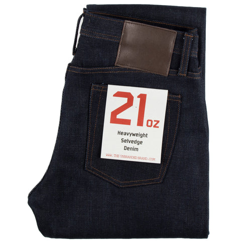 UB221 Heavyweight Tapered Fit Selvedge Indigo