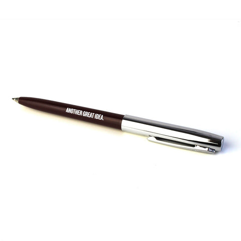 """Another Great Idea"" Pen Maroon"