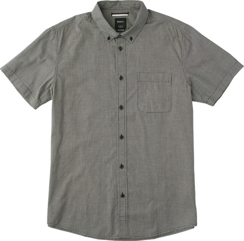 Short Sleeve That'll Do Micro Check Black