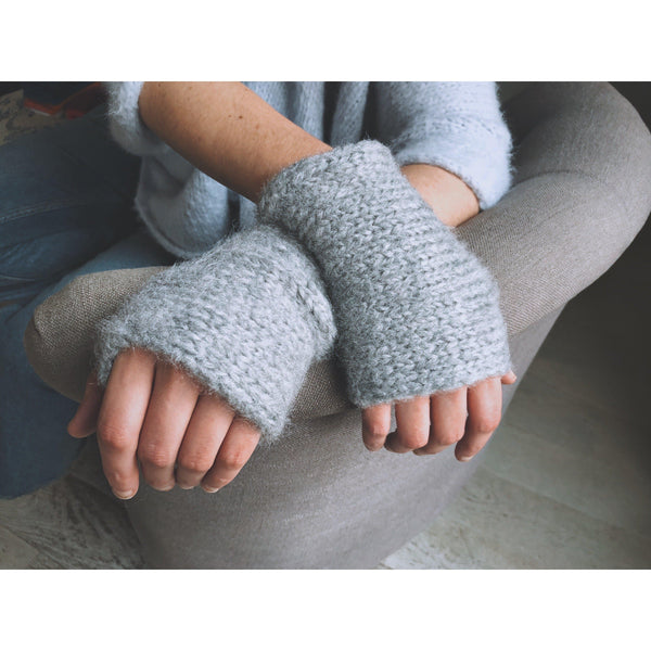 The Bianca Silk Hand and Arm Warmers - isobel & cleo