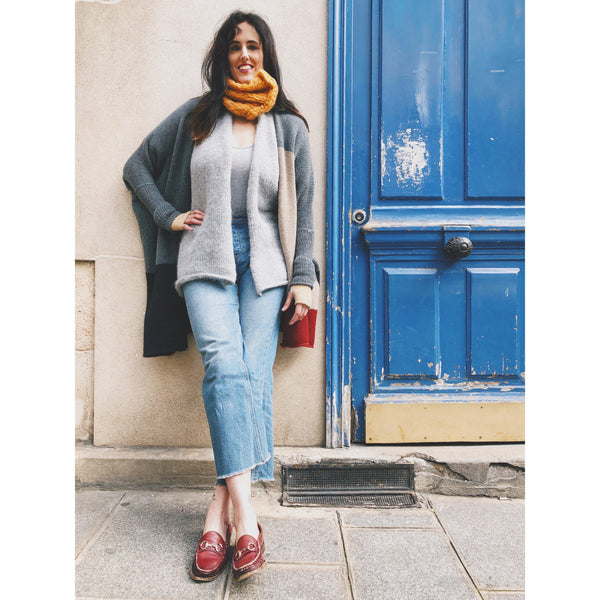 The Rothko Colorblock Duster - isobel & cleo