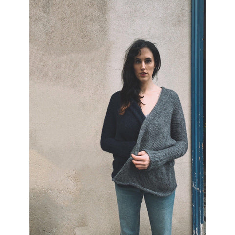 The Sybil Silk Cardigan - isobel & cleo