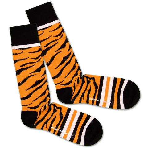 Dilly Socks X Safari 'Drunk Tiger'
