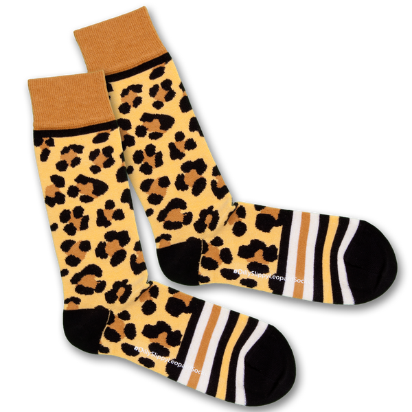 Dilly Socks X Safari Slippy Leopard