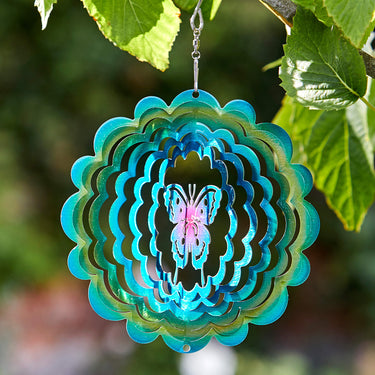Butterfly Rainbow Spinner 15cm