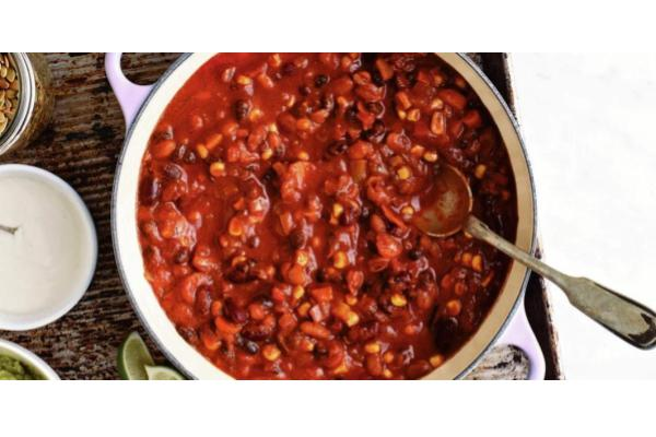 Veggie Chili (FROZEN) - Special Price!