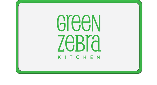 Green Zebra Kitchen Gift Card - Small Weekly Plan