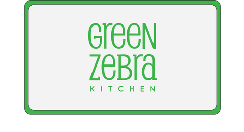 Green Zebra Kitchen Gift Card - Large Weekly Plan