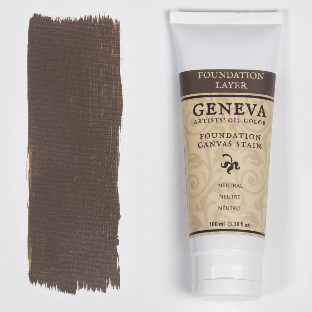 100ml Geneva Foundation Canvas Stain