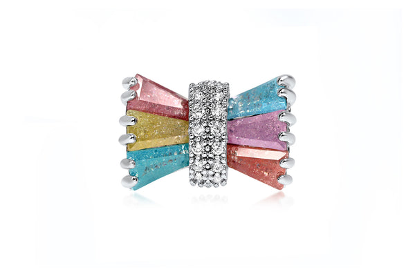 Statement Bow Cocktail Ring - Cielle London for unique fashion accessories and jewellery for Christmas