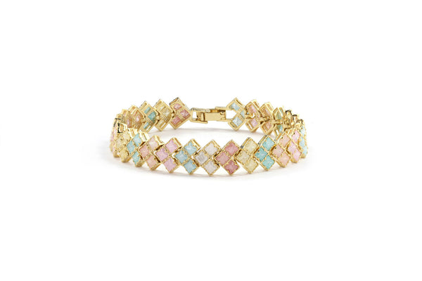 Pastel Geometric Square Bracelet - Cielle London Black Friday and Cyber Monday - 1