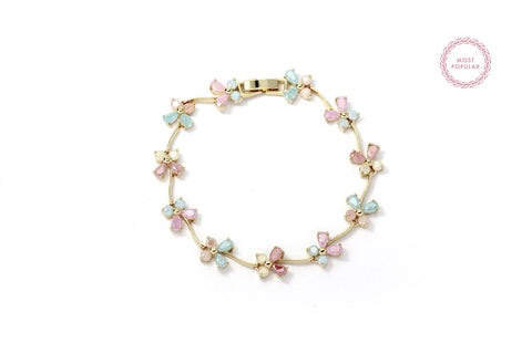 Colourful Butterfly Bracelet