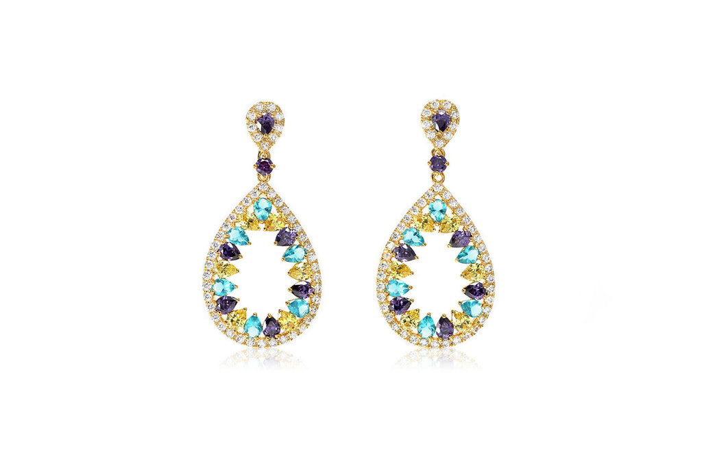 Crystal Teardrop Earrings - Cielle London Black Friday and Cyber Monday - 1