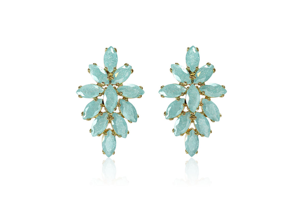 Spring Snow Flowers Earrings - Cielle London for unique fashion accessories and jewellery for Christmas