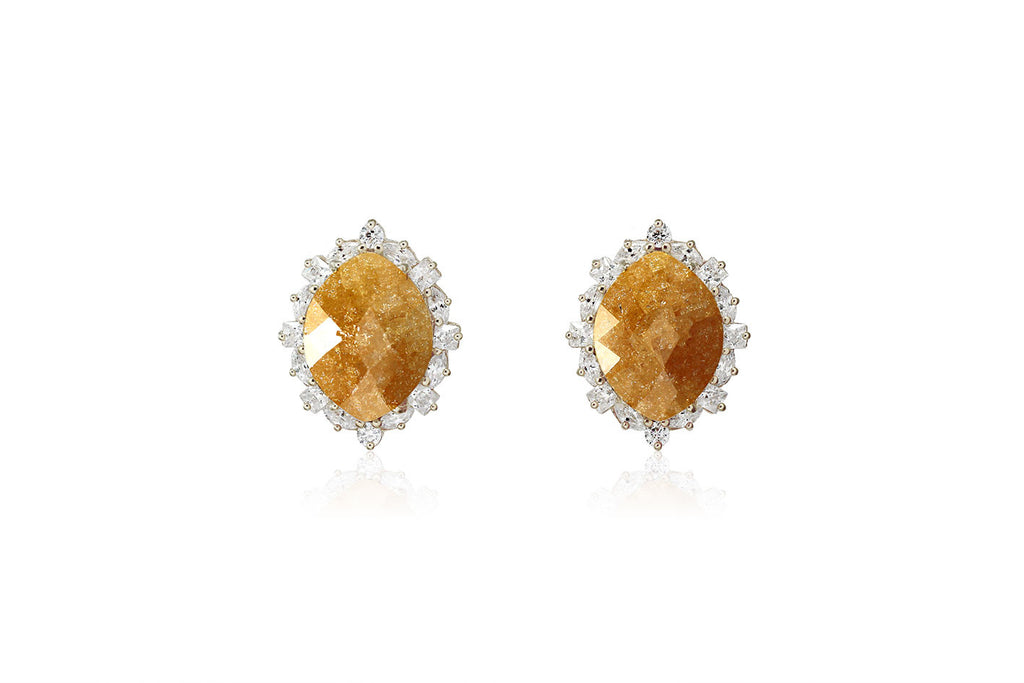 Royal Stone Earrings - Cielle London Black Friday and Cyber Monday - 2