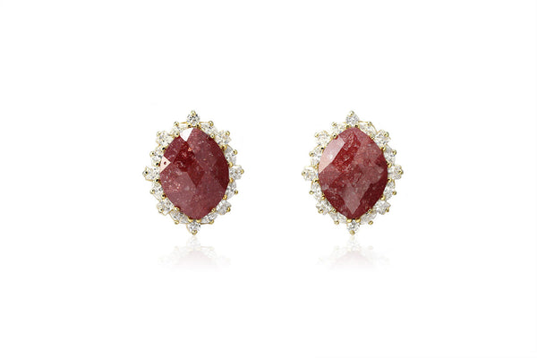 Royal Stone Earrings - Cielle London for unique fashion accessories and jewellery for Christmas