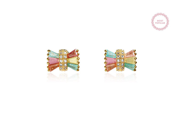 Colourful Bow Earrings - Cielle London Black Friday and Cyber Monday - 1