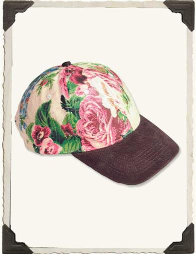 Victorian Chintz Ballcap - Bear Essentials Interiors