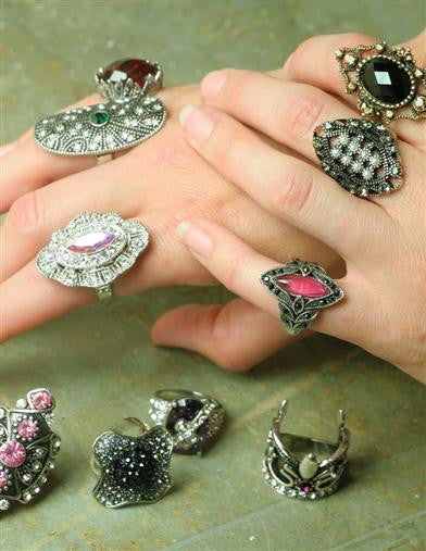 Costume Ring Assortment - Bear Essentials Interiors