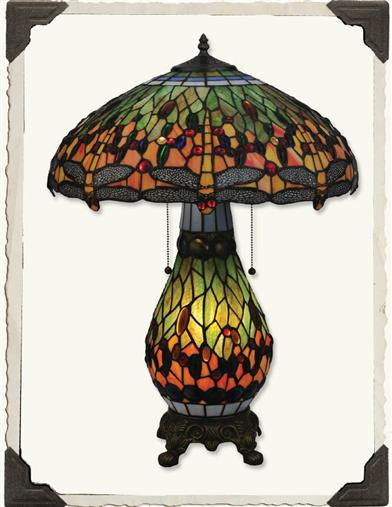 Dragonfly Tiffany Lamp - Bear Essentials Interiors