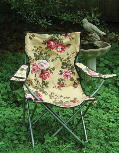 Chintz Lawn Chair - Bear Essentials Interiors