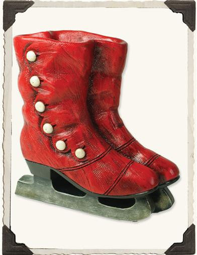 Red Old Skates Planter - Bear Essentials Interiors