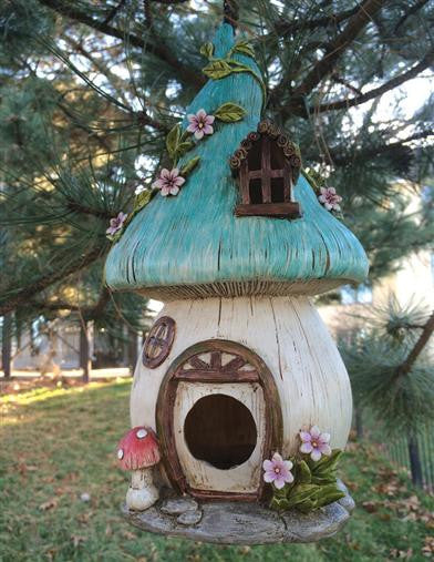Enchanted Toadstoll Birdhouse - Bear Essentials Interiors