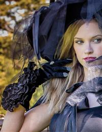 Black Rose Sorcerous Gloves