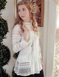 Amelie Lace Blouse