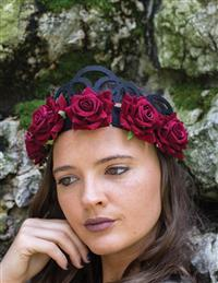 Enchanted Rose Crown