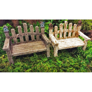 Birdhouse Bench 2 Assorted