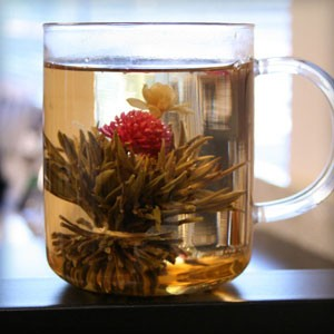 Fountain Flowering Tea - Bear Essentials Interiors