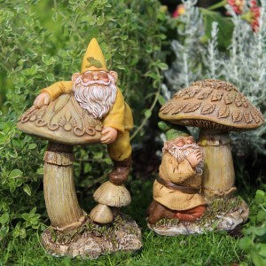 Gnomes Eddie & Freddie 2 assorted