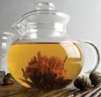 Glass Tea Pot - Bear Essentials Interiors