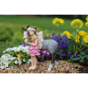 Fairy Penny w/pony - Bear Essentials Interiors