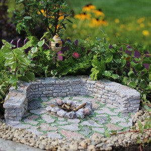 Stone Firepit Patio Pad - Bear Essentials Interiors