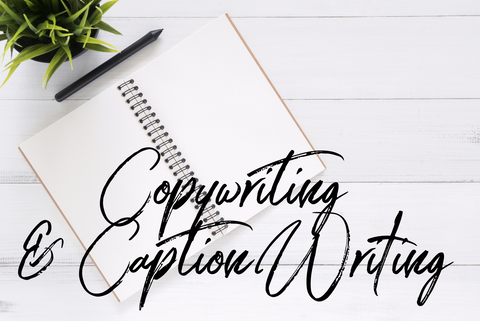 Copywriting & Caption Writing