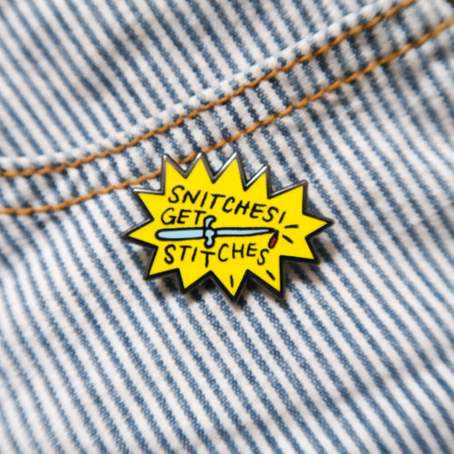 snitches | enamel pin