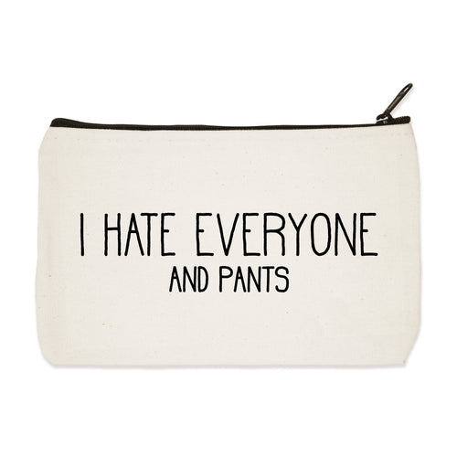 hate everyone | zip pouch