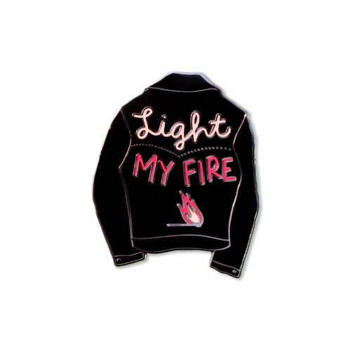 light my fire | enamel pin