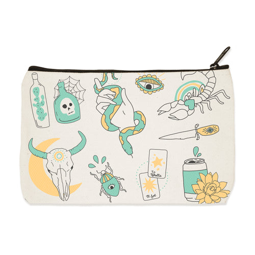 mystic flash | zip pouch